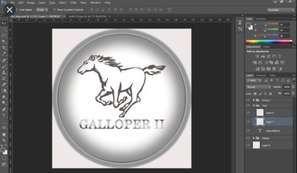 Hướng dẫn thiết kế logo bằng photoshop