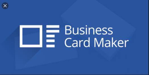 Phần mềm thiết kế card visit Business Card Maker