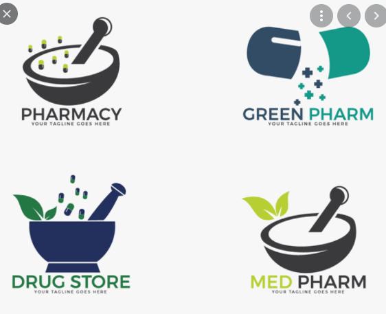 Mẫu logo dược phẩm