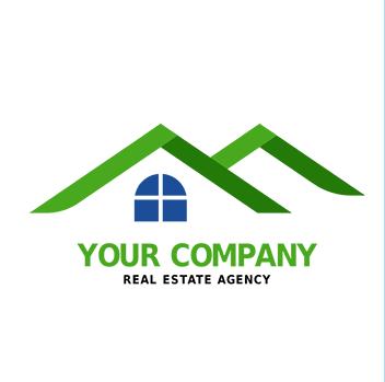 Logo bất động sản ấn tượng